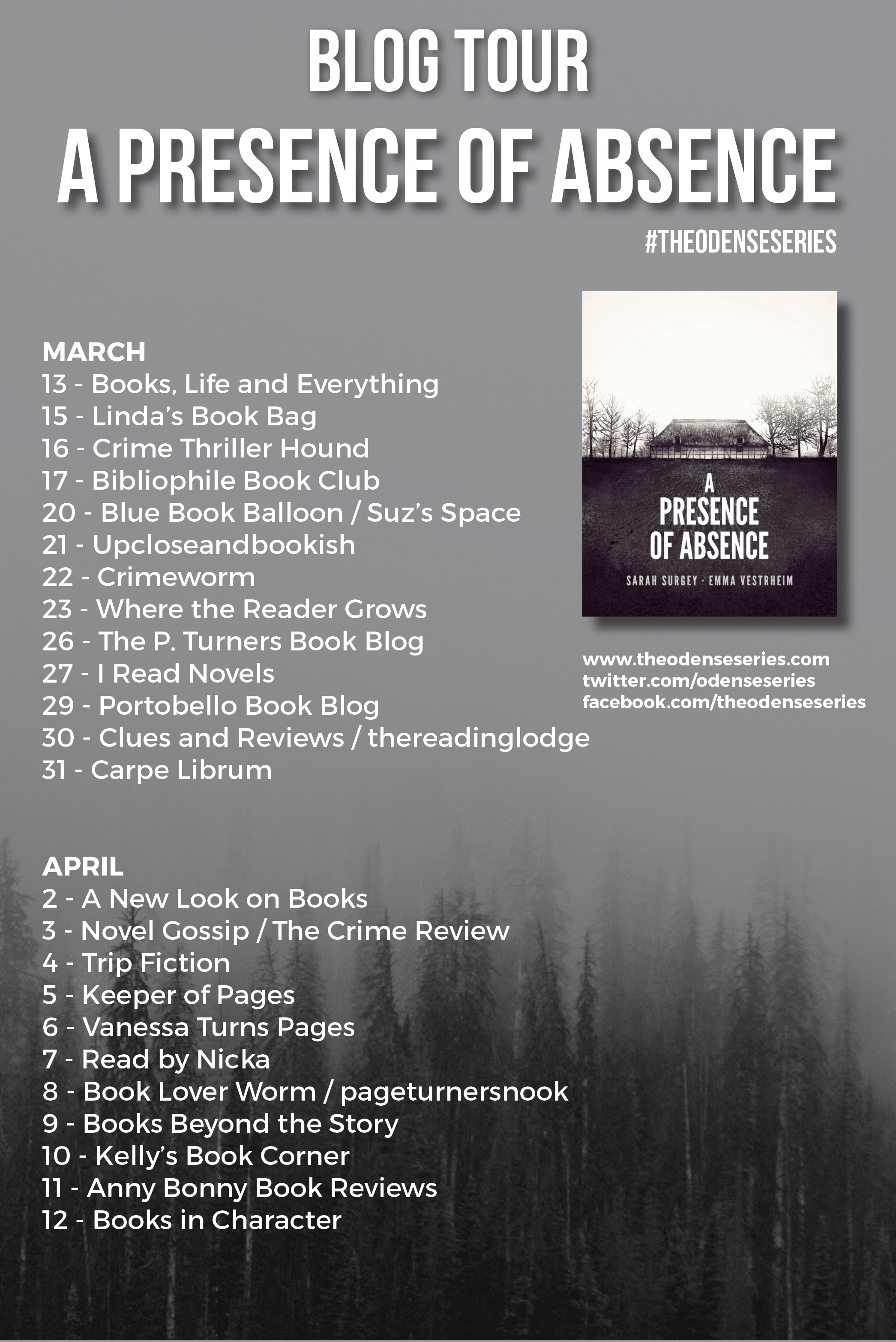 Blog Tour: A Presence of Absence by Sarah Surgey and Emma Vestrheim ...